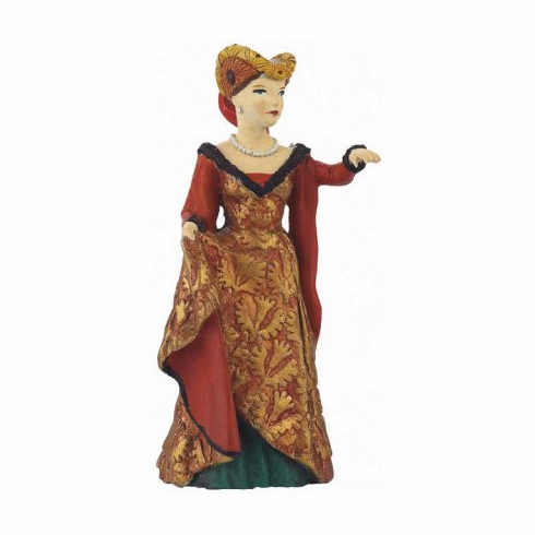 Papo France Medieval Fair Lady Red