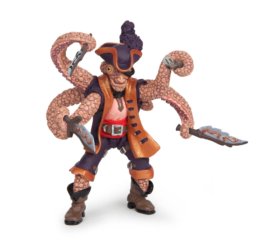 Papo France Octopus Mutant Pirate