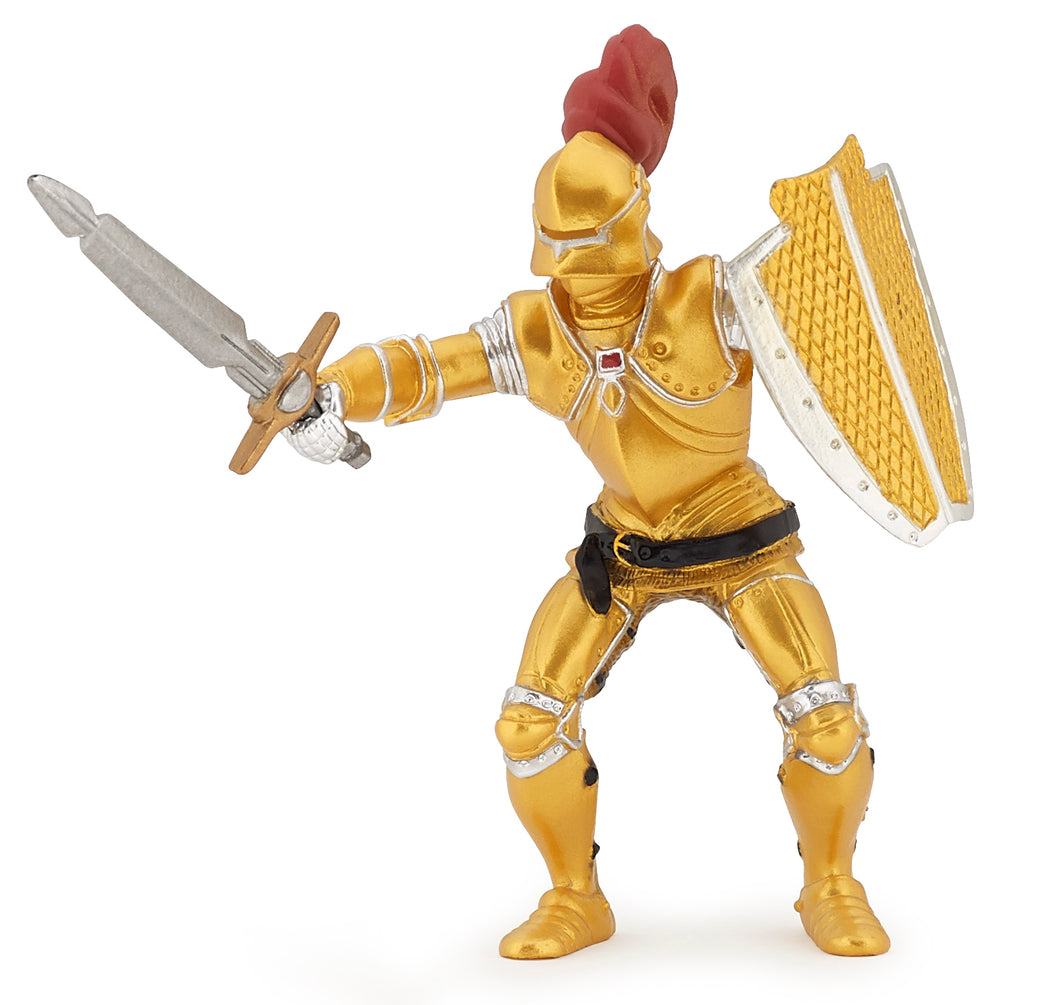 Papo France Knight In Gold Armor