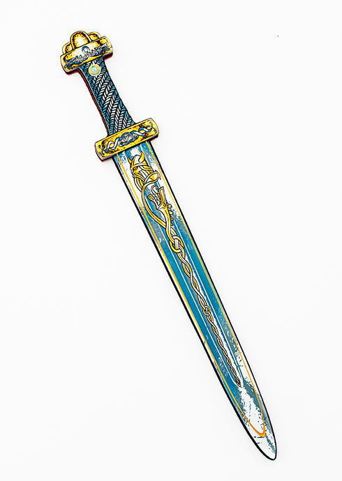 Liontouch Pretend Play Foam Viking Sword Harald Blue