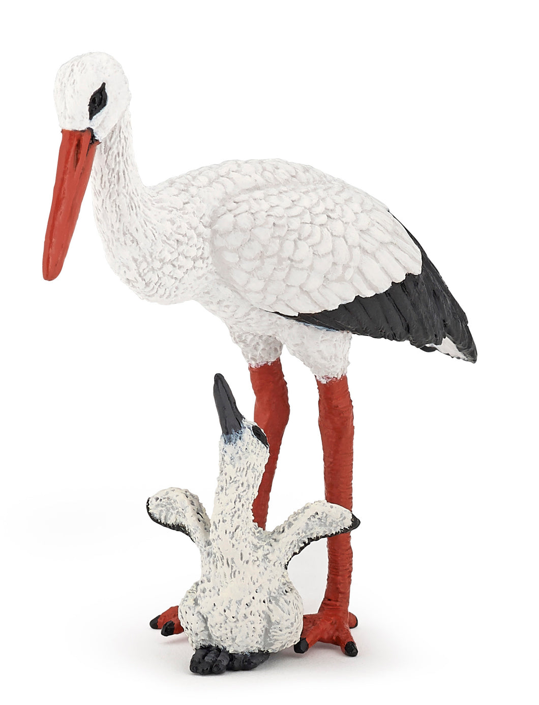 Papo France Stork And Baby Stork