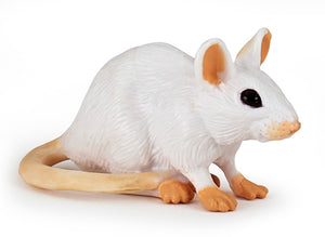 Papo France White Mouse