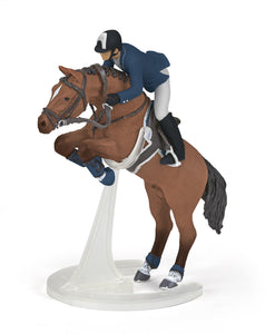 Papo France Jumping Horse With Rider - NEW!