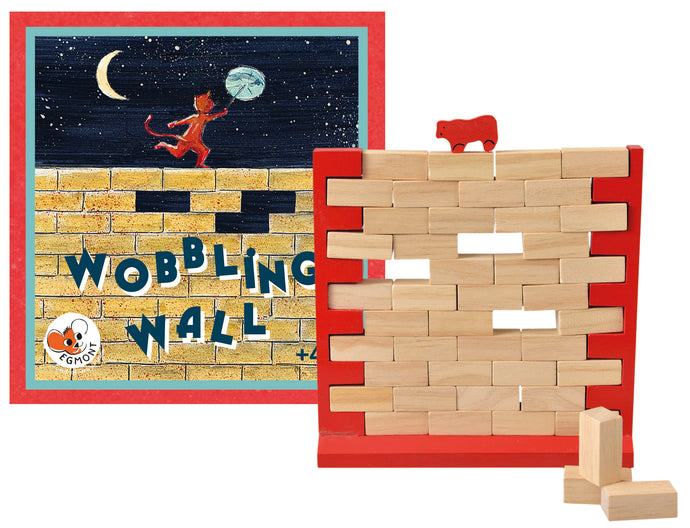 Egmont Toys Wobbling Wall Game
