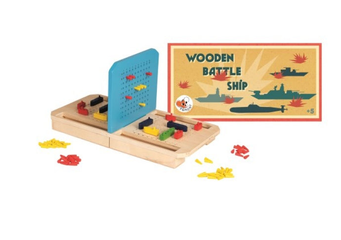 Egmont Toys Wooden Battleship -NEW!