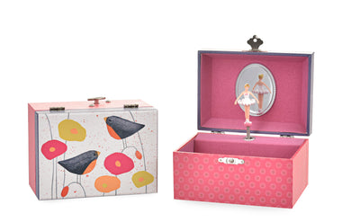 Egmont Toys Musical Jewelry Box - Poppies