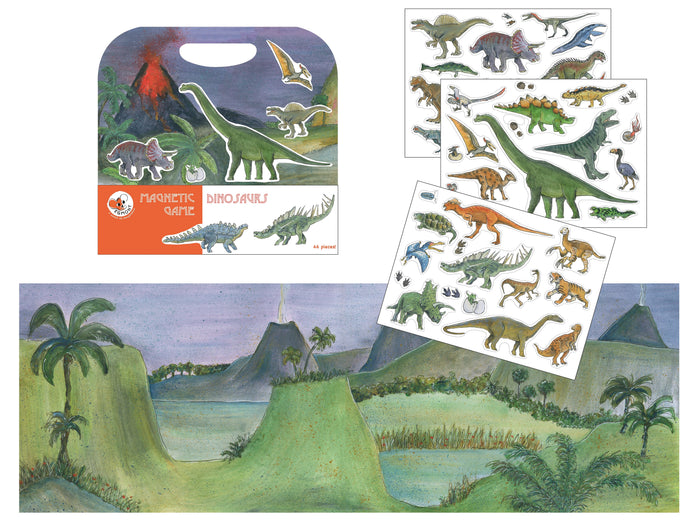 Egmont Toys Magnetic Game Dinosaurs