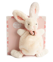 Load image into Gallery viewer, Doudou et Compagnie Bunny Doudou Blanket Plush Pal - NEW!