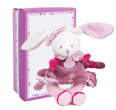 Doudou et Compagnie Cherry the Bunny Baby Rattle