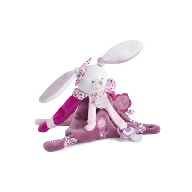 Doudou et Compagnie Cherry the Bunny Pacifier Holder - NEW!