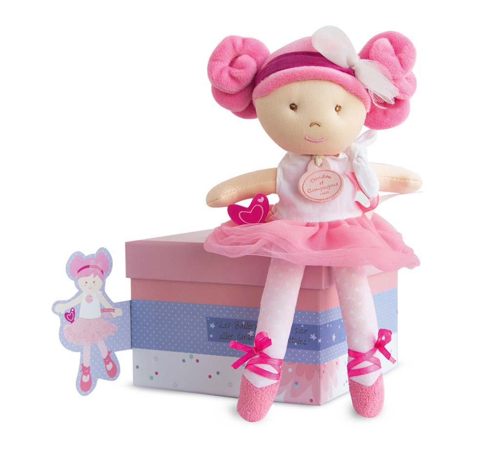 Doudou et Compagnie Little Ballerinas - 6 assorted dolls - 9.1inches
