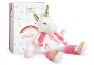 Doudou et Compagnie Unicorn - Doll Medium - 11.8inches