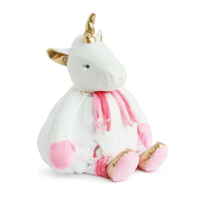 Doudou et Compagnie Lucie the Unicorn Plush Pajama Bag -NEW!