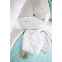 Load image into Gallery viewer, Doudou et Compagnie Sugar Bunny Sea Green Pajama Bag Plush - NEW