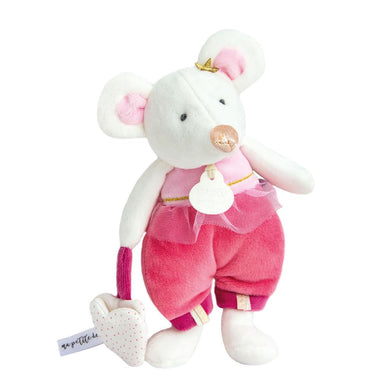 Doudou et Compagnie Tooth Fairy Friend Leonie Raspberry Mouse