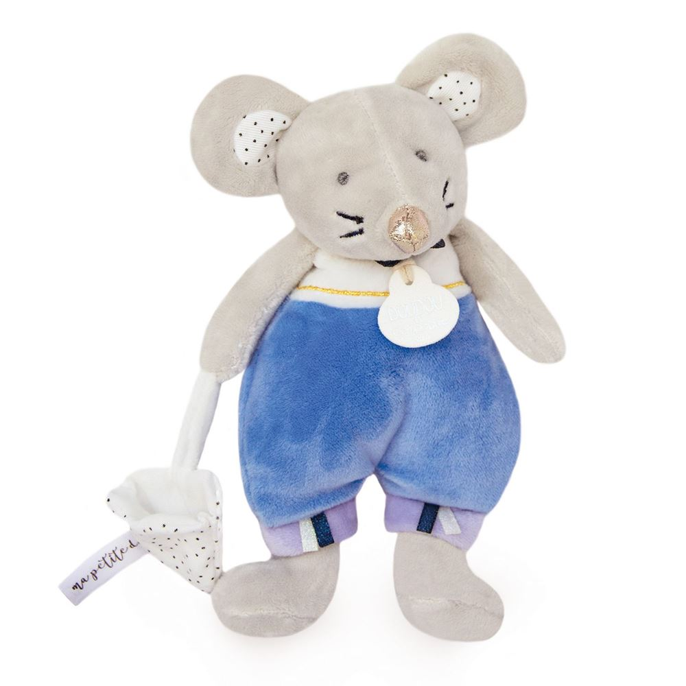 Doudou et Compagnie Tooth Fairy Friend Emile Blue Mouse