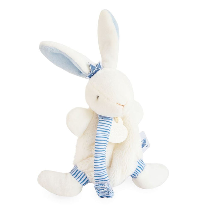 Doudou et Compagnie I'm a Sailor Bunny Pacifier Holder