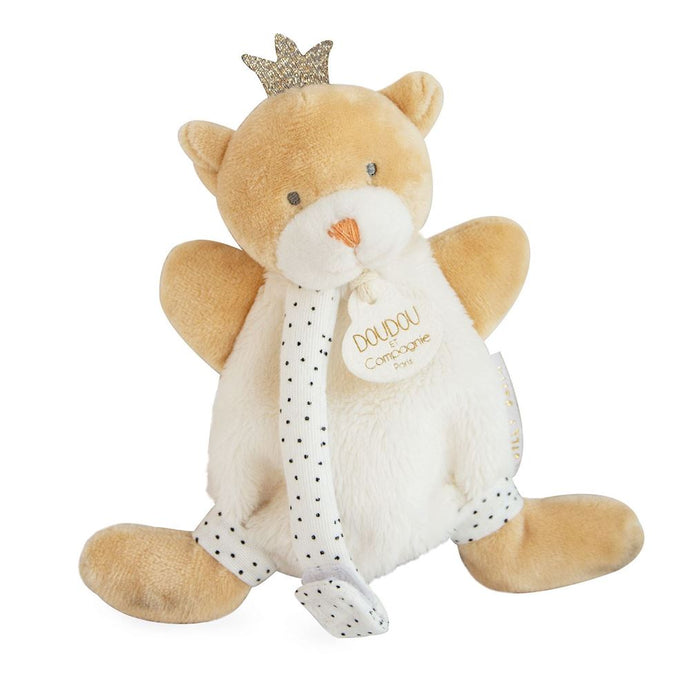 King Bear Baby Plush Animal Doudou Blanket