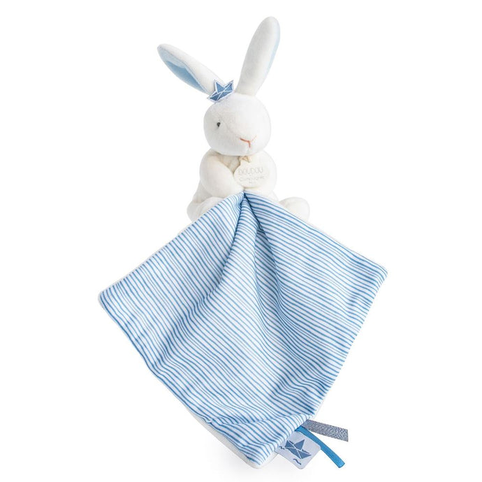 Doudou et Compagnie I'm a Sailor Plush Bunny with Doudou Blanket - NEW!