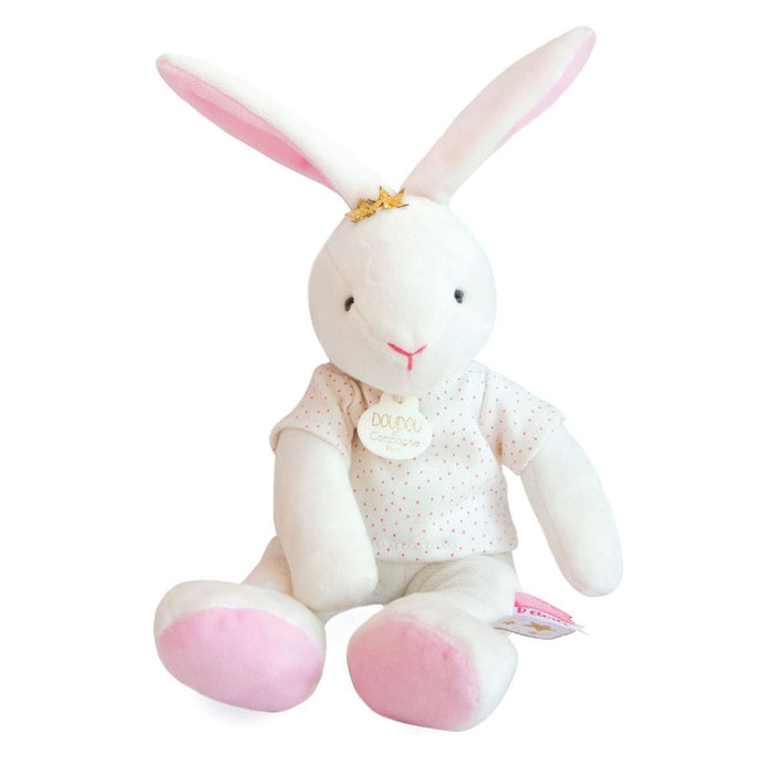Star Pink Bunny Baby Plush Stuffed Animal