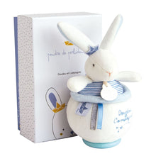 Load image into Gallery viewer, I'm a Sailor Bunny Plush Animal Music Box