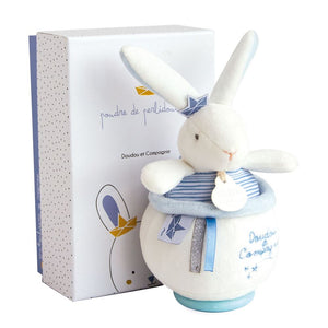 Doudou et Compagnie I'm a Sailor Bunny Musical Pull Toy