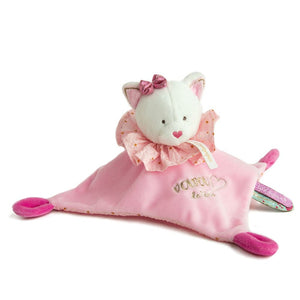 Doudou et Compagnie Dream Maker Cat Doudou Blanket Pal - NEW!