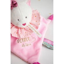 Load image into Gallery viewer, Doudou et Compagnie Dream Maker Cat Doudou Blanket Pal - NEW!