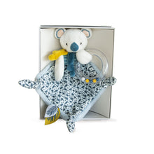 Load image into Gallery viewer, Doudou et Compagnie Yoka the Koala Doudou Blanket with Rattle - NEW!