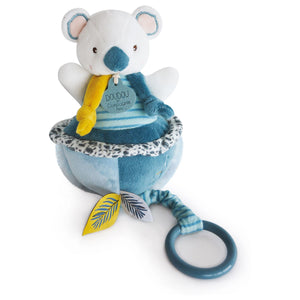 Doudou et Compagnie Yoka the Koala Musical Pull Toy- NEW!