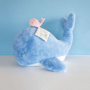 Doudou et Compagnie Under the Sea: Whale Plush Stuffed Animal - NEW!
