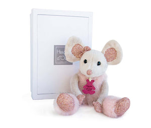 Histoire D'ours Little Twist Glitter Star Mouse