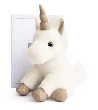 Load image into Gallery viewer, Histoire D'ours Gold Glitter Unicorn Plush