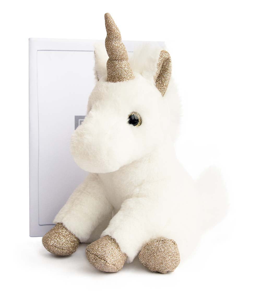 Histoire D'ours Unicorn Gold - 9.1inches