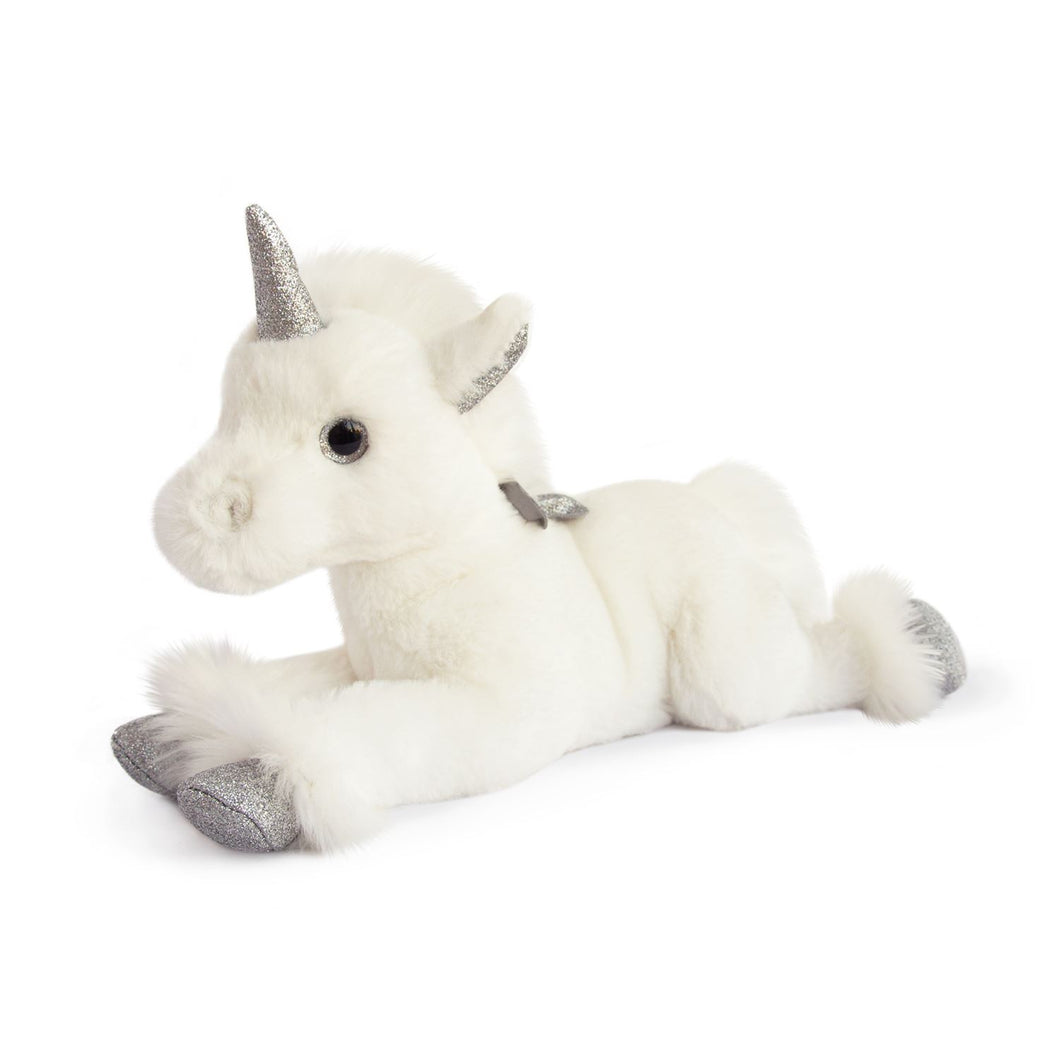 Histoire D'ours Unicorn Silver - 13.8inches