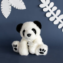 Load image into Gallery viewer, Histoire D'ours White Panda Plush - NEW!