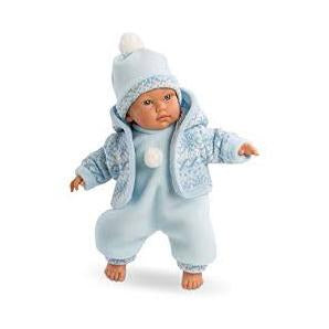 Llorens Ander Crying Baby Boy Doll 12 inches