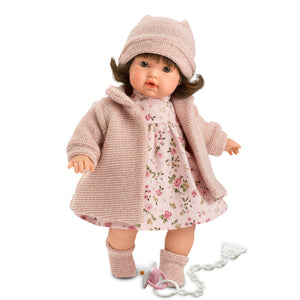 "Llorens 13"" Crying Doll Victoria"