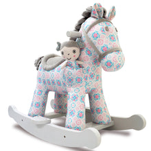 Load image into Gallery viewer, Little Bird Told Me Rosie & Mae Rocking Horse