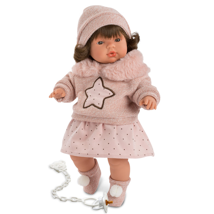 Llorens Vivvie Crying Doll 15 inches