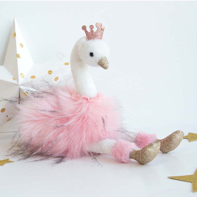 Histoire D'ours Pink Swan - 11.8inches