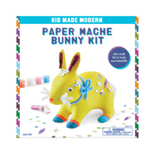 Load image into Gallery viewer, Kid Made Modern Paper Mache Bunny Kit