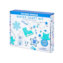Load image into Gallery viewer, Kid Made Modern Winter Craft Kit
