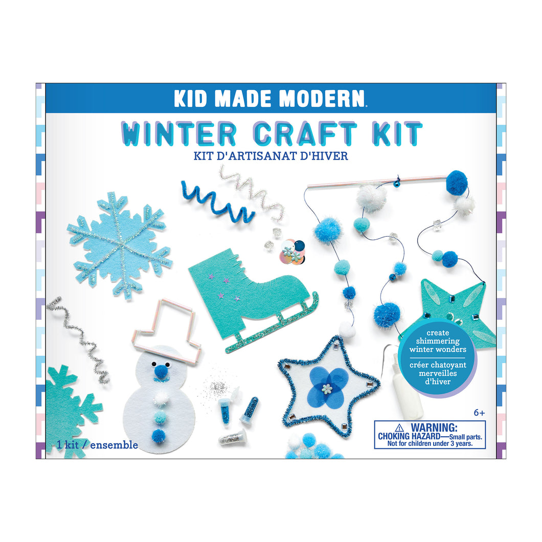 Kid Made Modern Winter Craft Kit