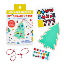Load image into Gallery viewer, Kid Made Modern DIY Ornament Kits - Tree