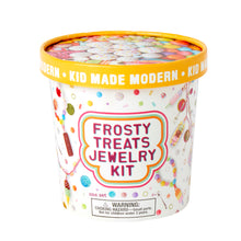 Load image into Gallery viewer, Kid Made Modern Frosty Treats Jewelry Kit