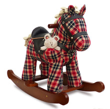 Load image into Gallery viewer, Little Bird Told Me Winston & Red Rocking Horse