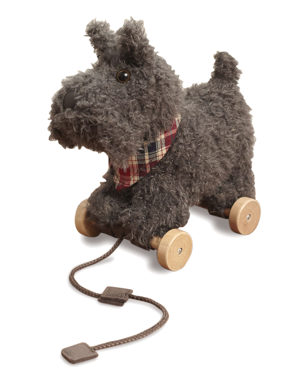 Little Bird Told Me Pull-Along Toddler Toy - Scottie Dog