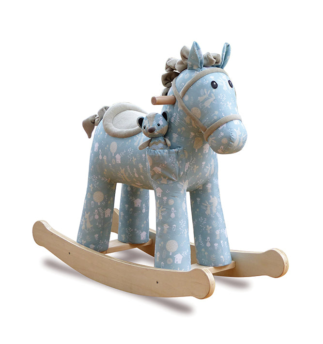Little Bird Told Me Rocking Horse 12 months+ - Finn & Munchkin
