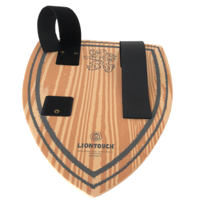 Liontouch Pretend-Play WoodyLion Shield - Black & Gold